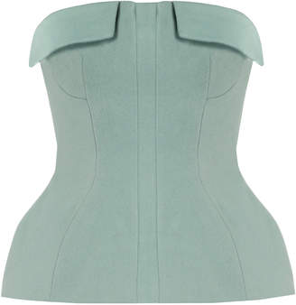 Lake Studio Strapless Wool Corset Top