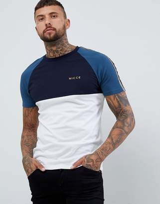 Nicce London bronco paneled t-shirt