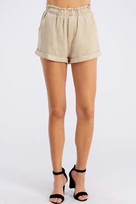 Cotton Candy Paper Bag Shorts