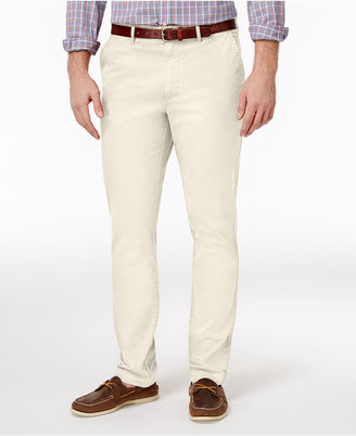 Club Room Men's Slim-Fit Stretch Chinos, Only at Macy's $59.50 thestylecure.com