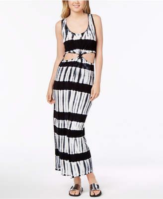 Material Girl Juniors' Cutout Tie-Dye Maxi Dress