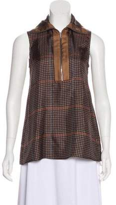 Acne Studios Houndstooth Sleeveless Top w/ Tags
