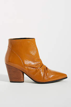 Bruno Premi Patent Scrunch Ankle Booties