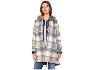 BB Dakota You Oughta Know Fuax Fur Hood Coat