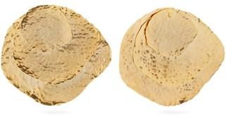 Joelle Gagnard Kharrat - Jongleur Gold Plated Disc Earrings - Womens - Gold