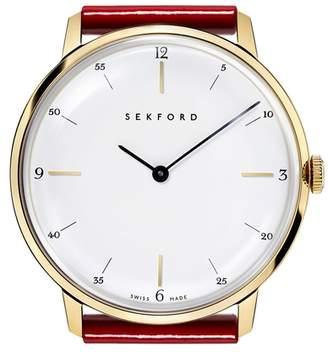 Sekford Type 1A Gold Tone Watch