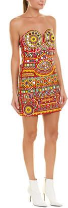 Moschino Embroidered Mini Dress