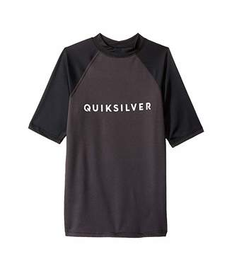 Quiksilver Always There Short Sleeve Rashguard (Big Kids)