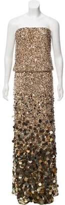 Calypso Strapless Sequin Dress