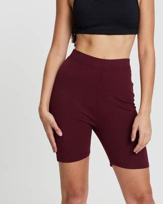 Missguided Cotton Cycling Shorts