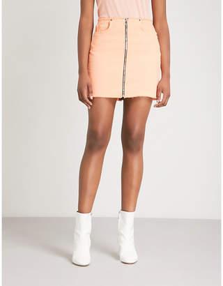 Cotton Citizen Mini Zip cotton-blend skirt