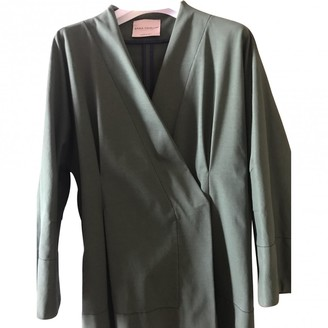 Green Cotton Erika Cavallini Jacket for Women