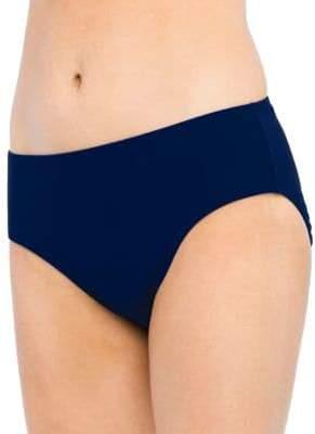 Christina Blue Semi High Waist Bottom