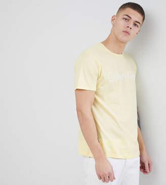 Calvin Klein crew neck t-shirt with logo Exclusive at ASOS
