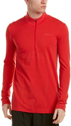 Craft Comfort Zip Wool-Blend Pullover
