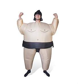 Thumbs Up Inflatable Sumo Costume