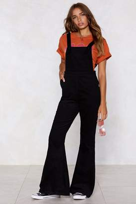 Nasty Gal Over It Corduroy Overalls