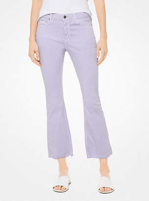 Michael Kors Cropped Flared Jeans