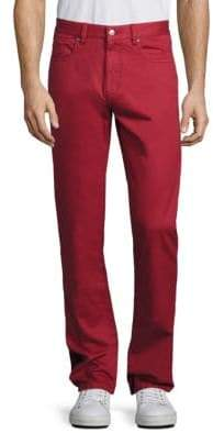 Saks Fifth Avenue COLLECTION Five-Pocket Style Solid Pants