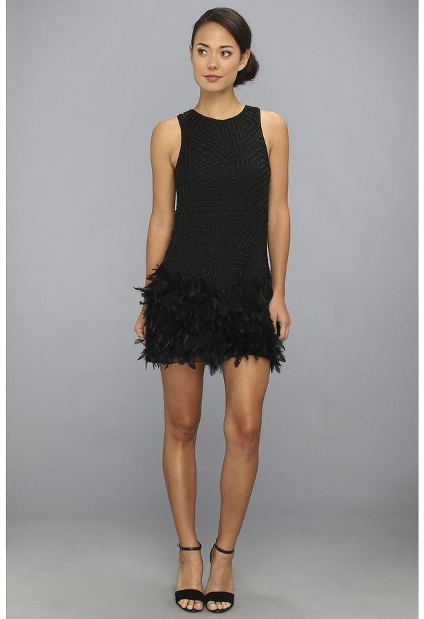 Parker Allegra Dress (Black) - Apparel