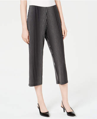 Alfani Printed Culotte Pants