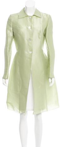 ValentinoValentino Silk Lightweight Coat
