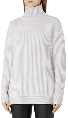 REISS Emma Funnel-Neck Sweater $240 thestylecure.com