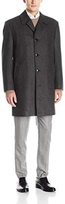 London Fog Men's Signature Wool Blend Top Coat