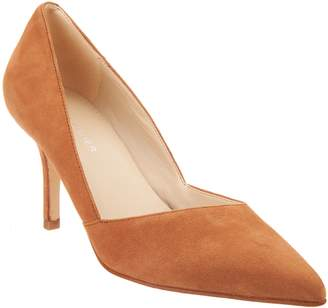 Marc Fisher Suede Pointy Toe Pumps - Tuscany