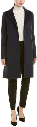 Cinzia Rocca Wool & Cashmere-Blend Long Coat