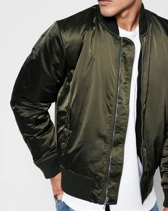 7 For All Mankind Bomber Jacket in Army