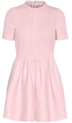 Valentino Wool and silk playsuit