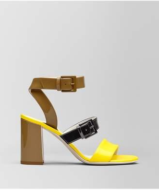 356c493c761 Bottega Veneta Sandal In Patent Calf