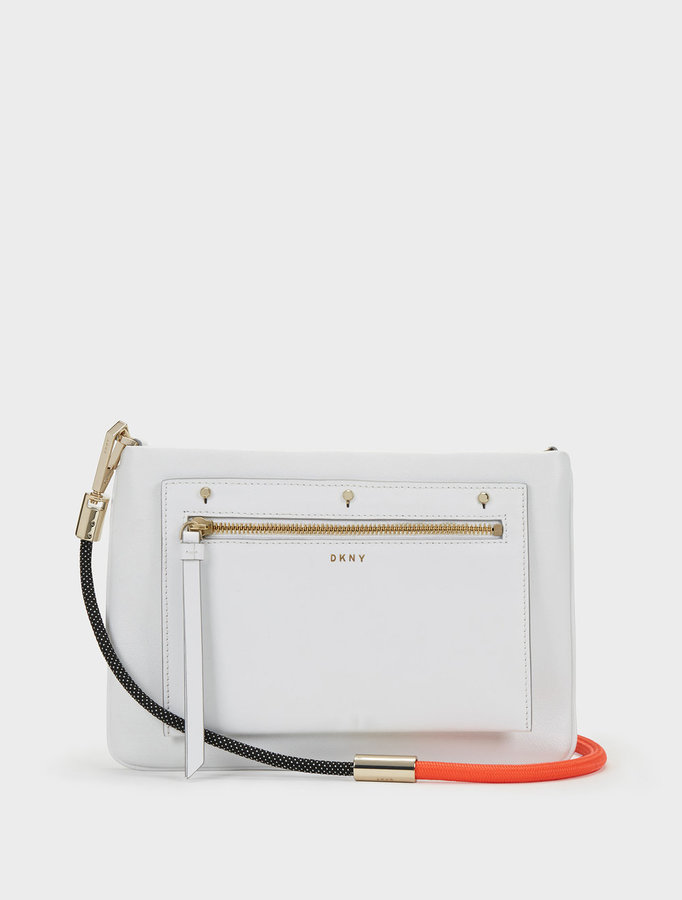 DKNYRemovable Pouch Bungee Rope Crossbody
