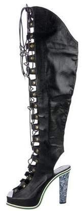 Rodarte Lace-Up Sandals