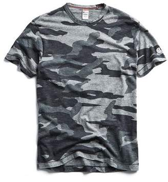 8b14de2f Todd Snyder + Champion Oversized Camo Tee in Grey Heather