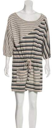 Marc by Marc Jacobs Striped Mini Dress