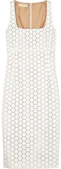 Michael Kors Cotton sheath dress