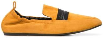 Lanvin logo band loafers