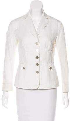 Philosophy di Alberta Ferretti Lightweight Notch-Lapel Blazer