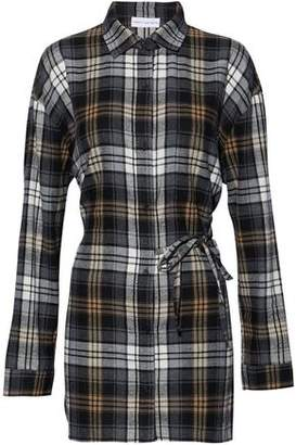 Robert Rodriguez Checked Cotton-Blend Flannel Shirt