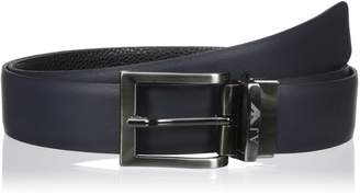 Armani Jeans Men's R4 Reversible Classic Belt