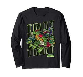 Nickelodeon Rise Up TMNT Quad Long Sleeve T-Shirt