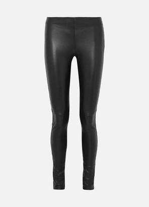 Joseph Leather Leggings - Black
