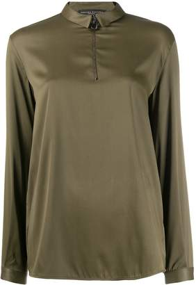 Fabiana Filippi zipped blouse