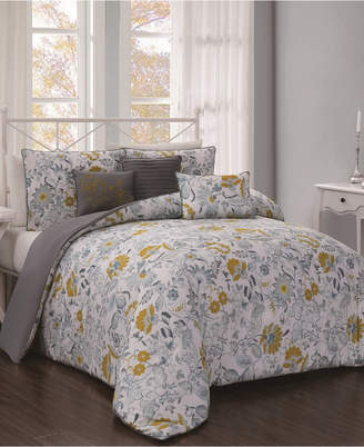 Geneva Home Fashion Vernazza 5-Pc Twin Comforter Set Bedding