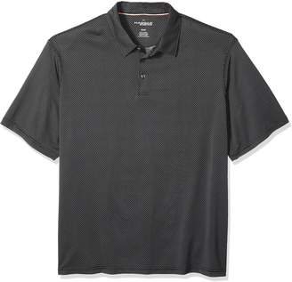 Haggar Men's Big and Tall Short Sleeve in-Motion Polo