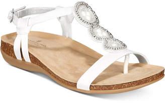 Bandolino B-Flexible Hamper Embellished Sandals Women's Shoes