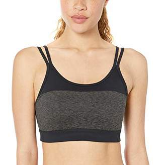 Core 10 Women's Studiotech Strappy Color Block Yoga Bralette Sports Bra