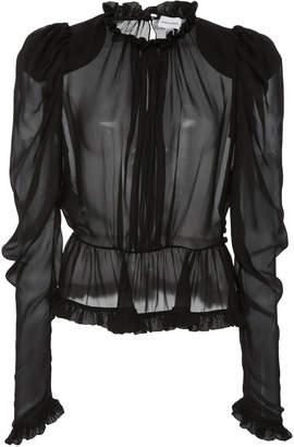 Magda Butrym Normandy Silk Blouse